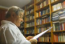 Amadeu Ferreira recita un poema